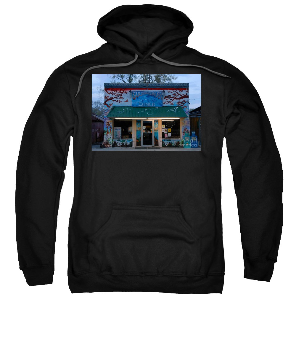 Suwanee River Sweatshirt featuring the photograph Suwannee River Diner by David Lee Thompson