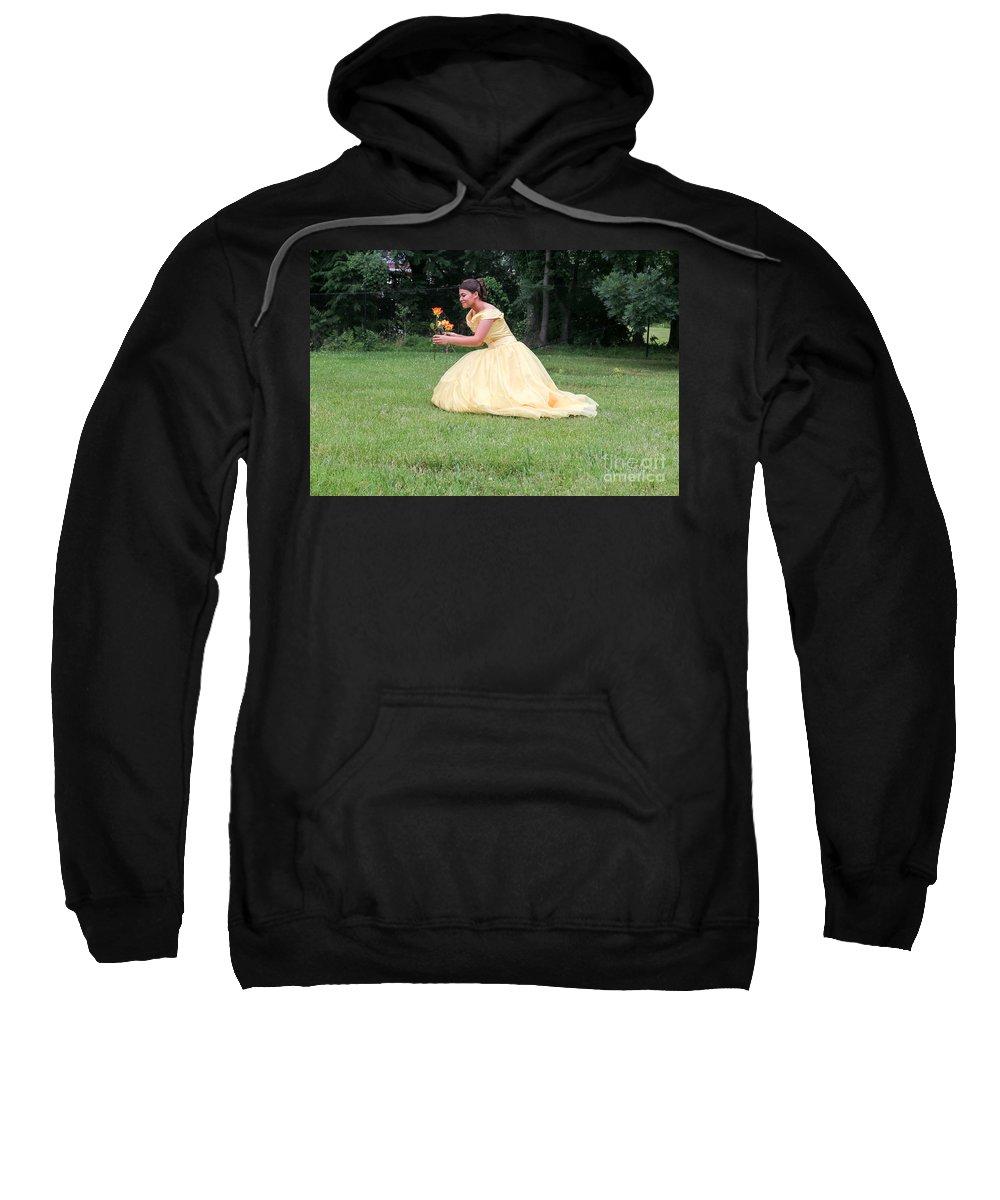 Sweatshirt featuring the photograph Sweet Fifteen by Oscar Lizama
