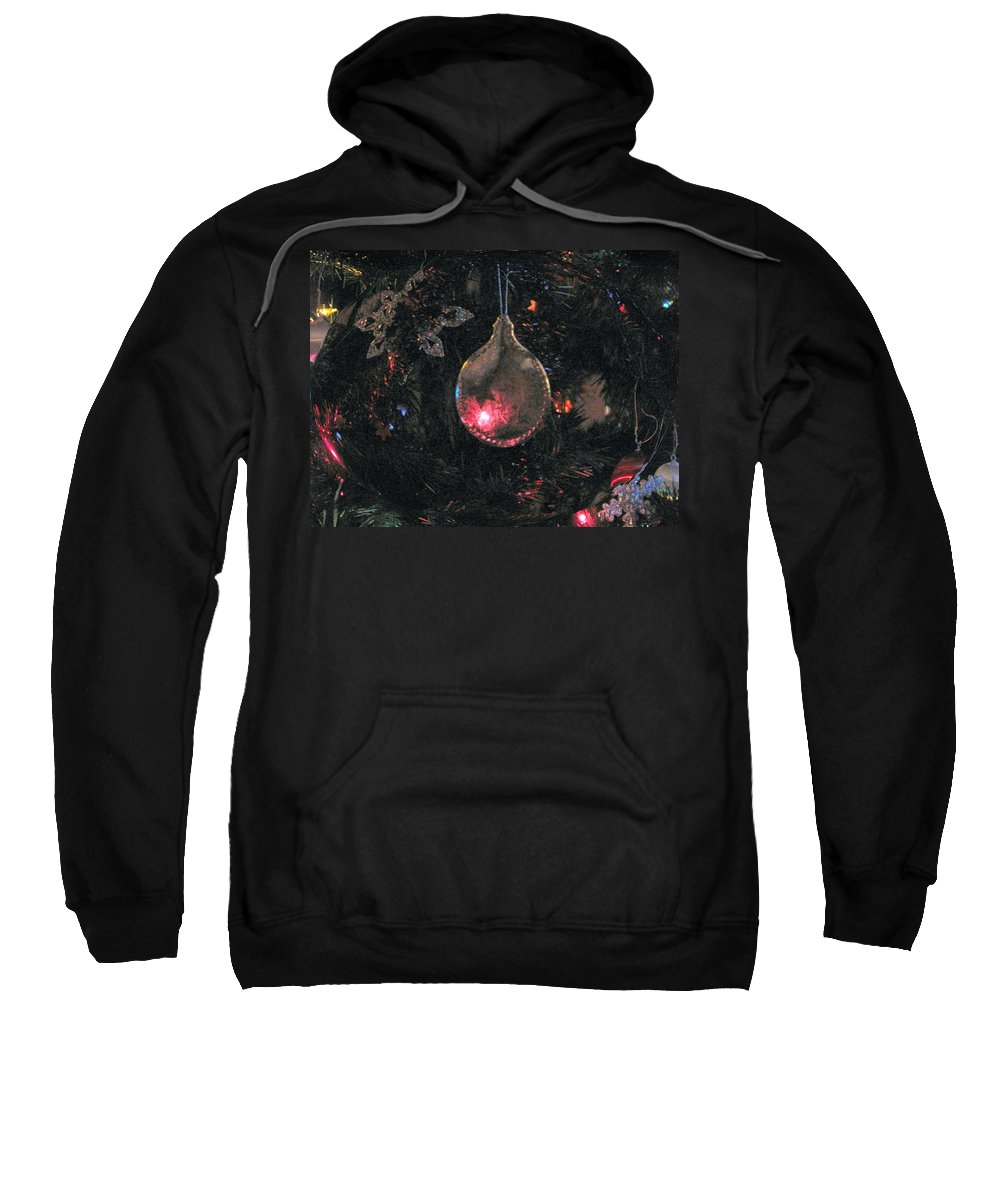 Christmas Sweatshirt featuring the photograph Symbol by Ian MacDonald