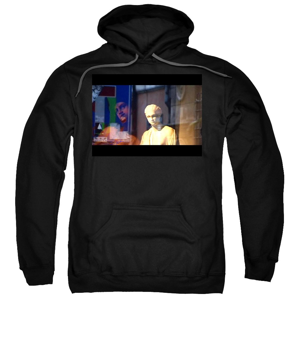 Rome Sweatshirt featuring the photograph Tableau by Charles Stuart