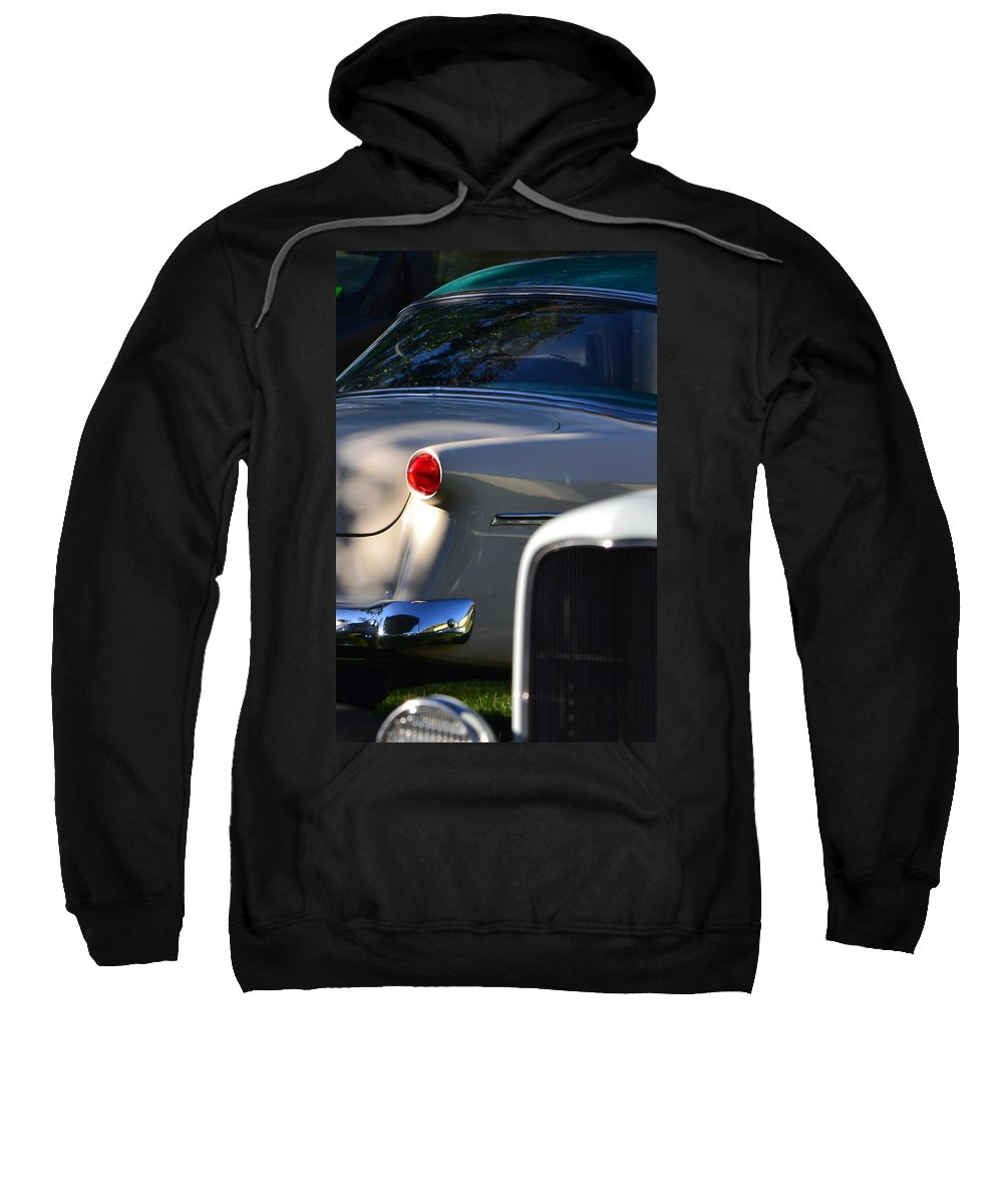 Sweatshirt featuring the photograph Tail Light by Dean Ferreira