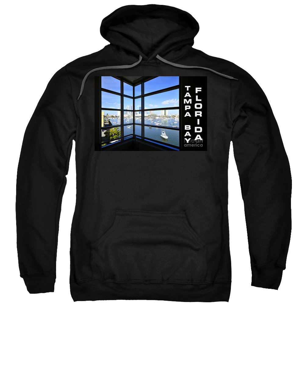 Tampa Bay Florida Sweatshirt featuring the photograph Tampa Bay Florida by David Lee Thompson