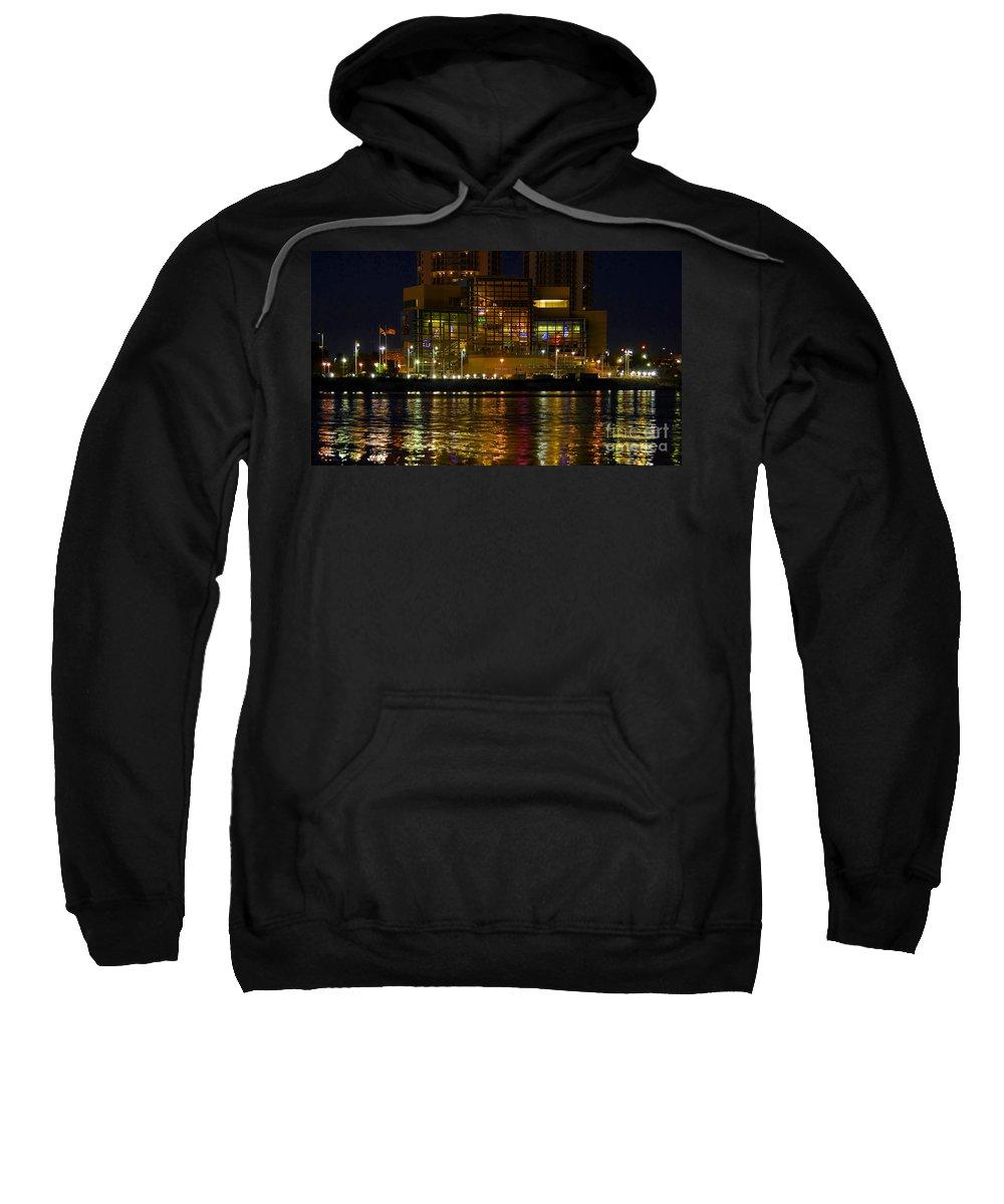 Tampa Bay History Center Sweatshirt featuring the photograph Tampa Bay History Center by David Lee Thompson