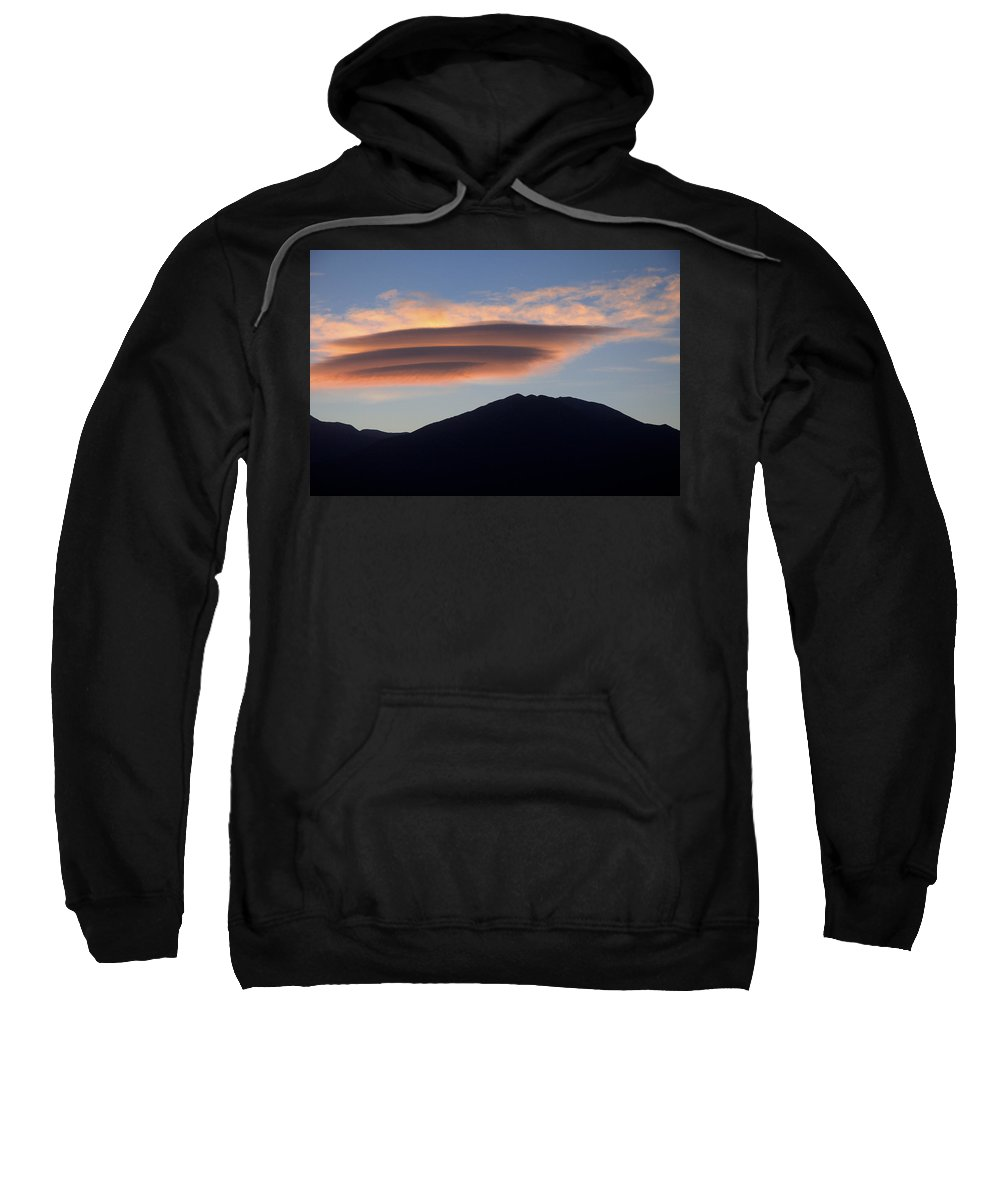 Taos Sweatshirt featuring the photograph Taos Sunset by Jerry McElroy