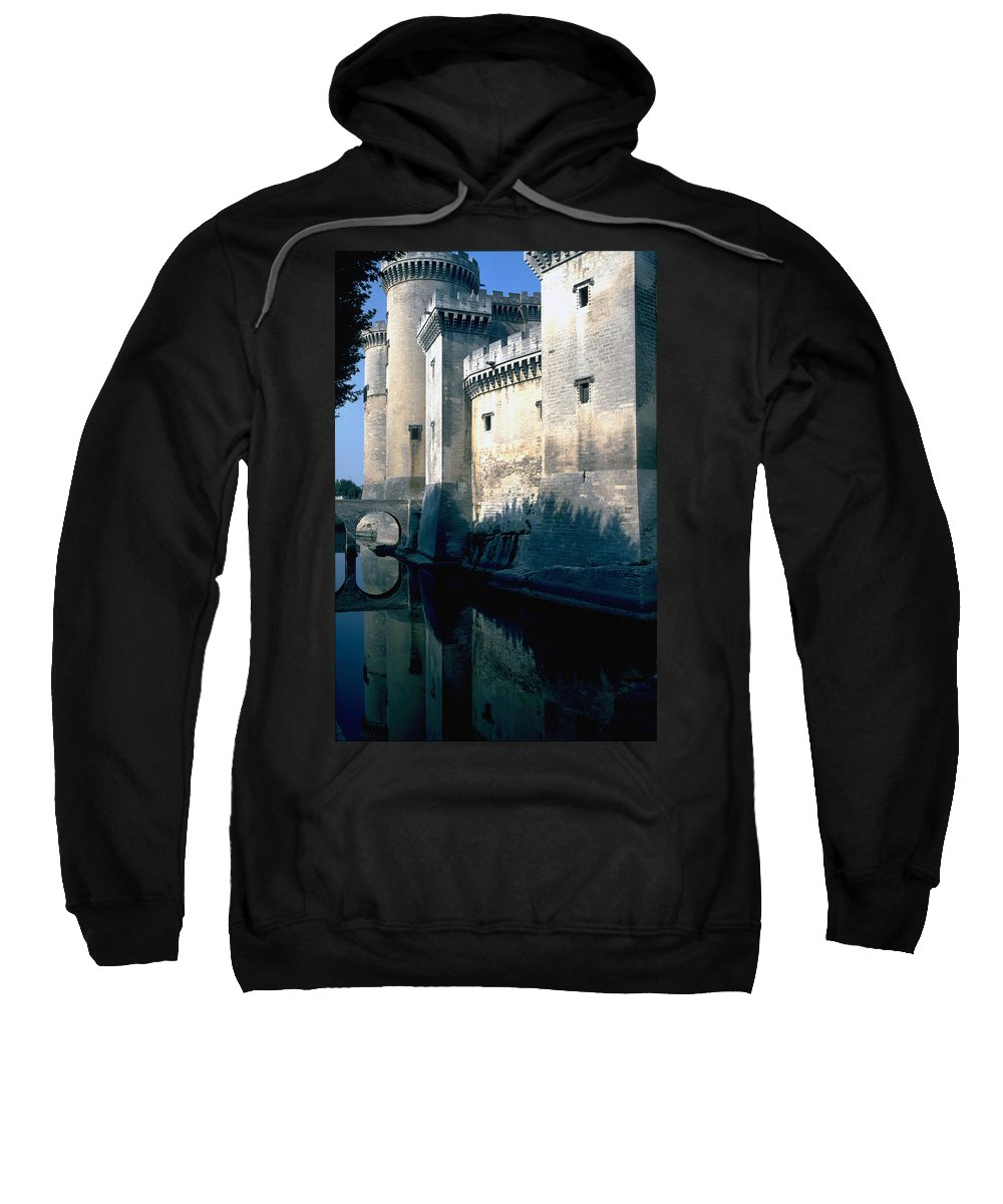 Tarragon France Castle Sweatshirt featuring the photograph Tarragon France by Flavia Westerwelle