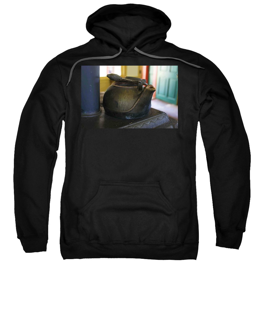 Tea Kettle Sweatshirt featuring the photograph Tea Kettle by Nelson Strong