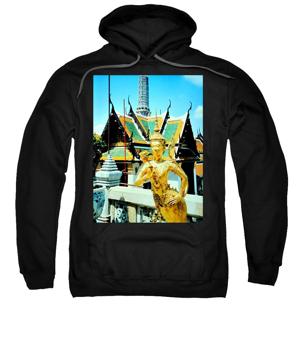 Bangcock Sweatshirt featuring the photograph Thailand by Ian MacDonald