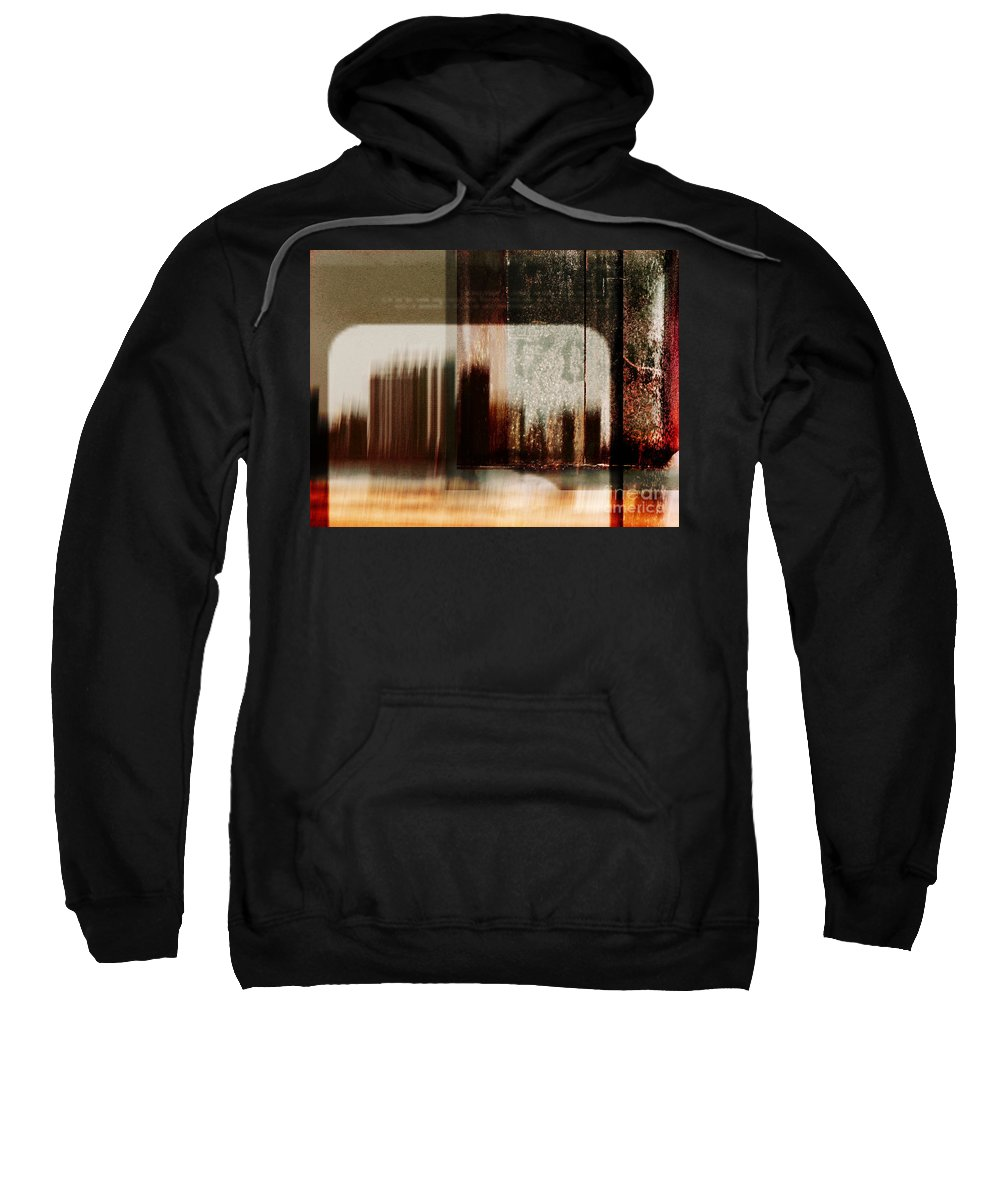 Dipasquale Sweatshirt featuring the photograph That Day In The City When We Lost Track Of Time by Dana DiPasquale