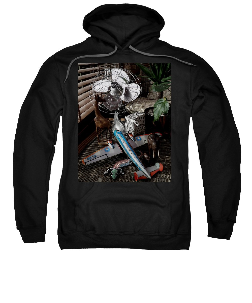 Still Life Sweatshirt featuring the photograph The African Fantasy by Charles Stuart