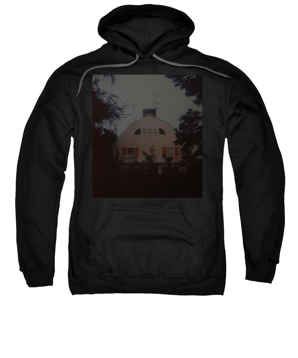 The Amityville Horror Sweatshirt featuring the photograph The Amityville Horror by Rob Hans