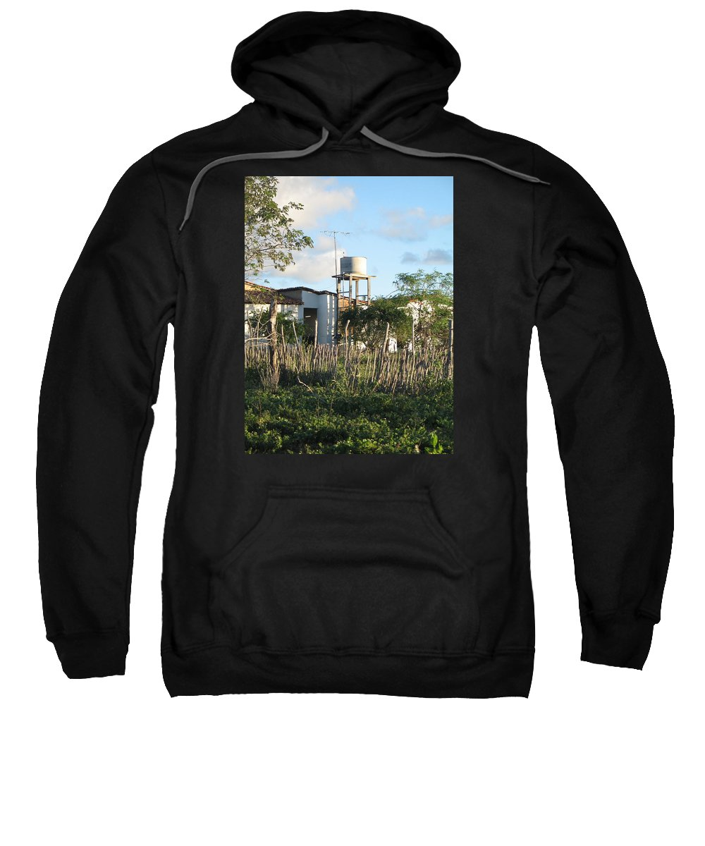 Rural Brazil Sweatshirt featuring the photograph The Basics by ML Everhart