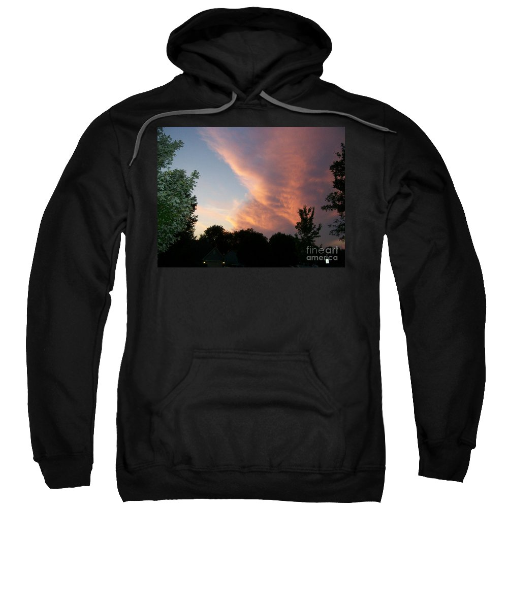 Sky Sweatshirt featuring the photograph The Blanket by Stephen King