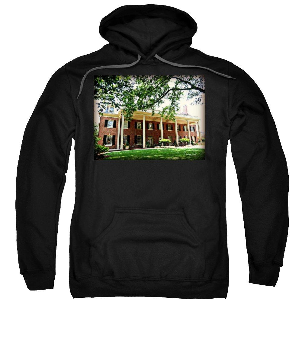 Carolina Inn Sweatshirt featuring the photograph The Carolina Inn - Chapel Hill by Paulette B Wright