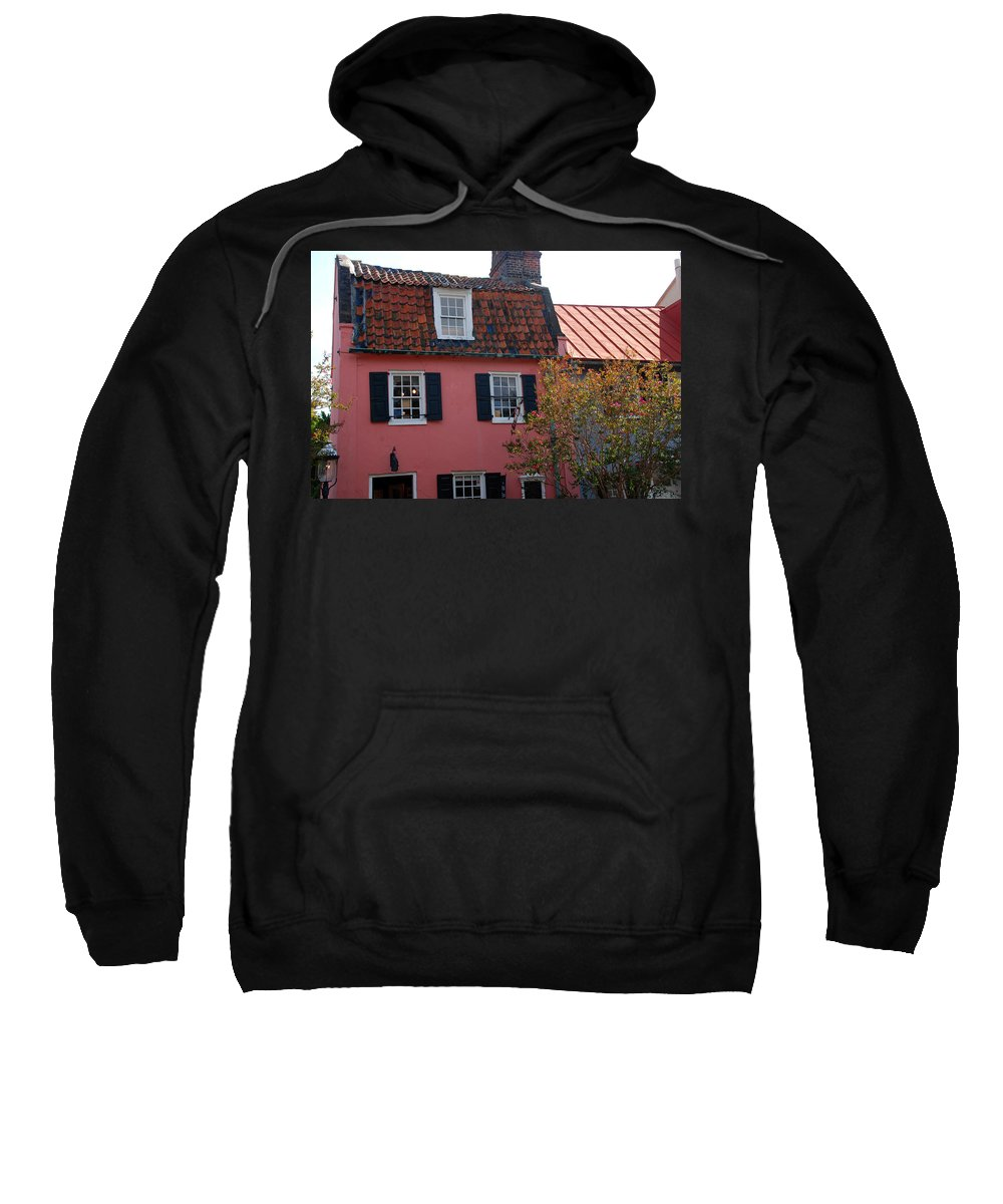 House Sweatshirt featuring the photograph The Charm Of Charleston Sc by Susanne Van Hulst