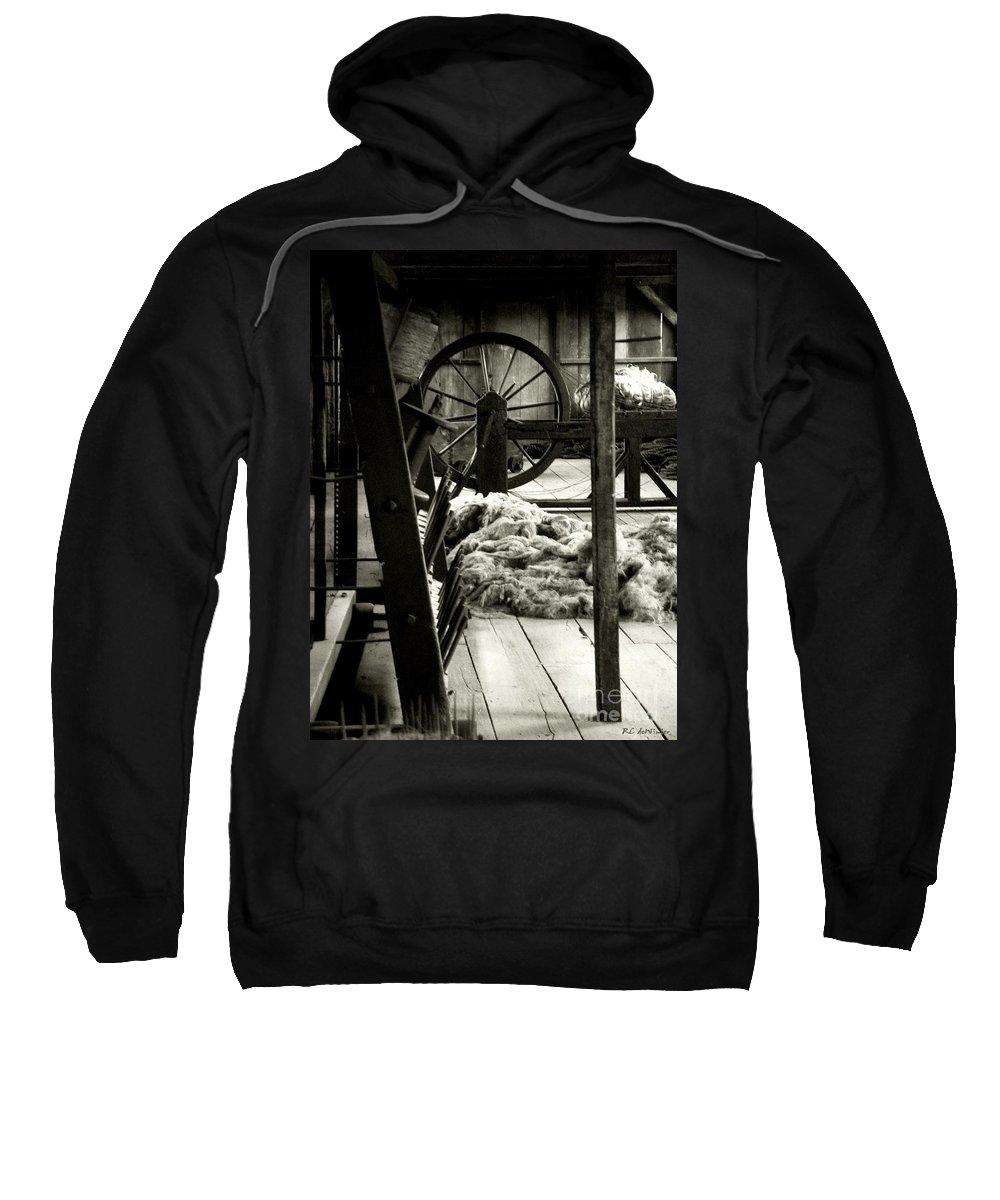 Antiques Sweatshirt featuring the photograph The Dark Side Of Nostalgia by RC DeWinter