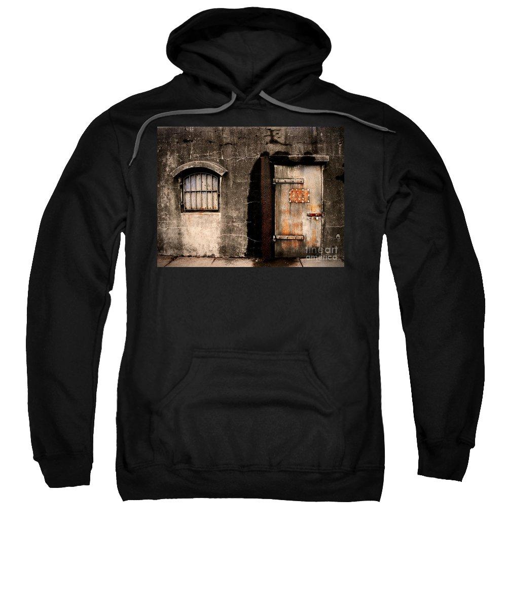 Door Sweatshirt featuring the photograph The Darkness by Tara Turner