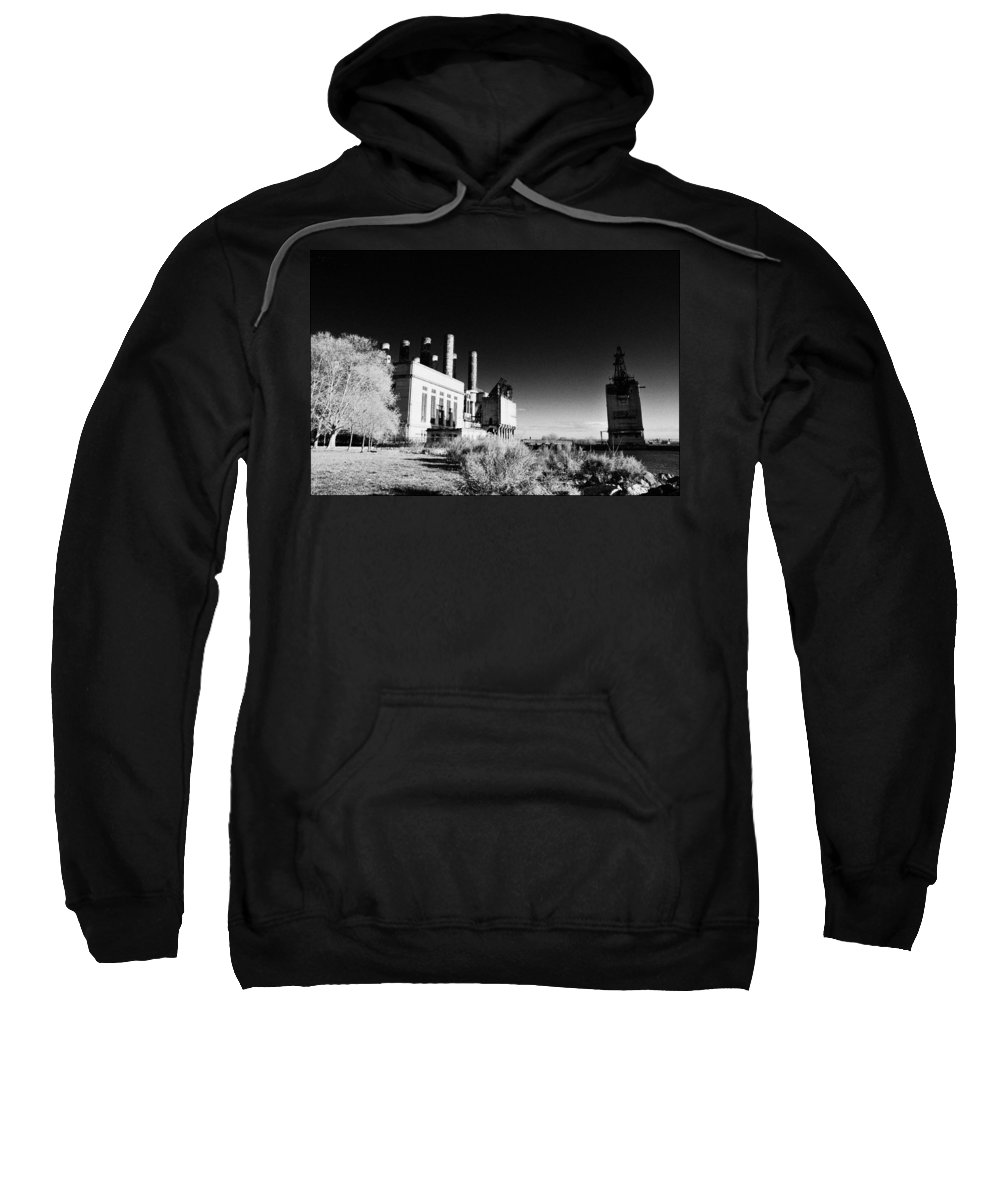 Electric Company Sweatshirt featuring the photograph The Electric Company by Bill Cannon