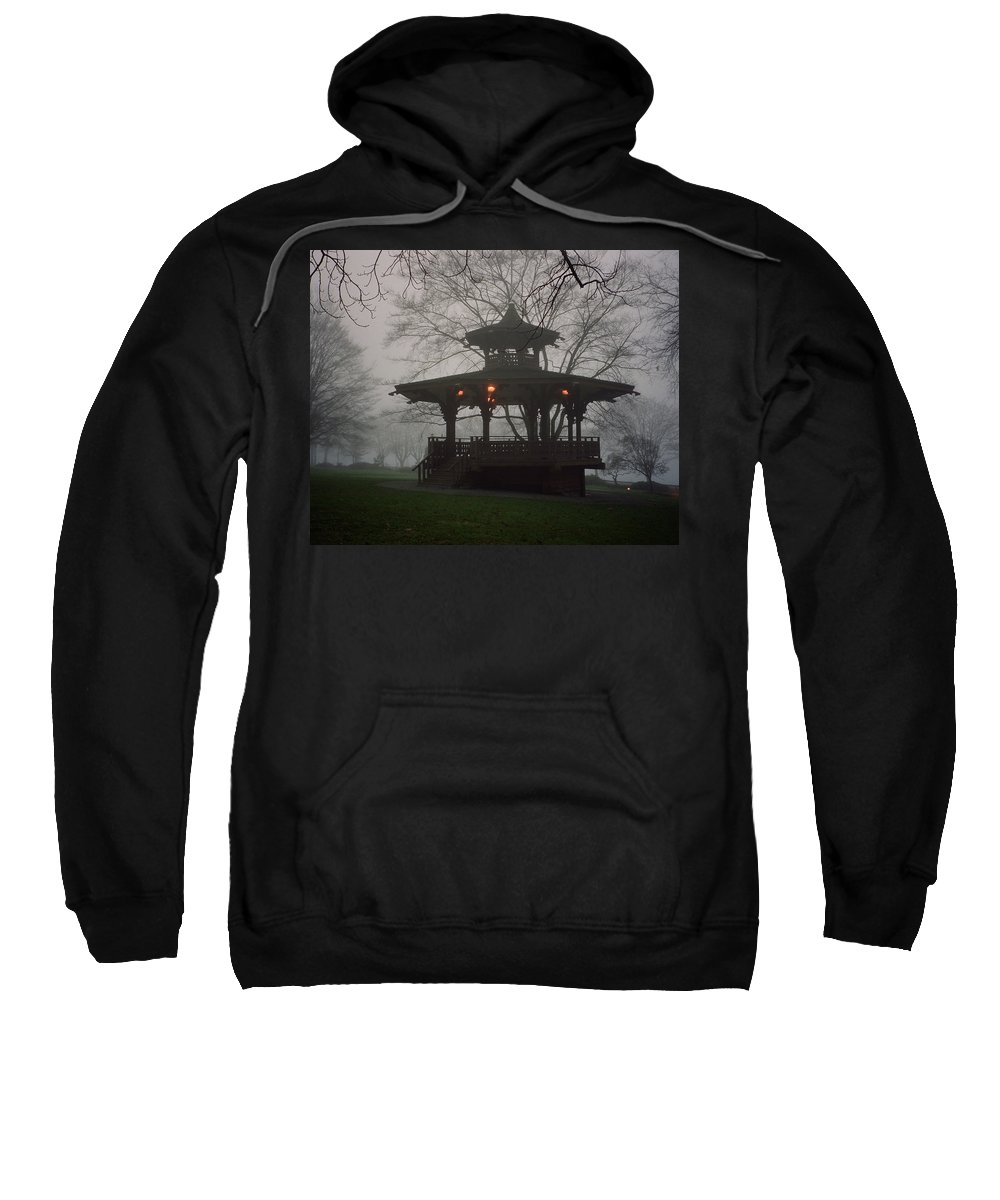Gazebo Sweatshirt featuring the photograph The End Of The Millennium by Sheryl R Smith