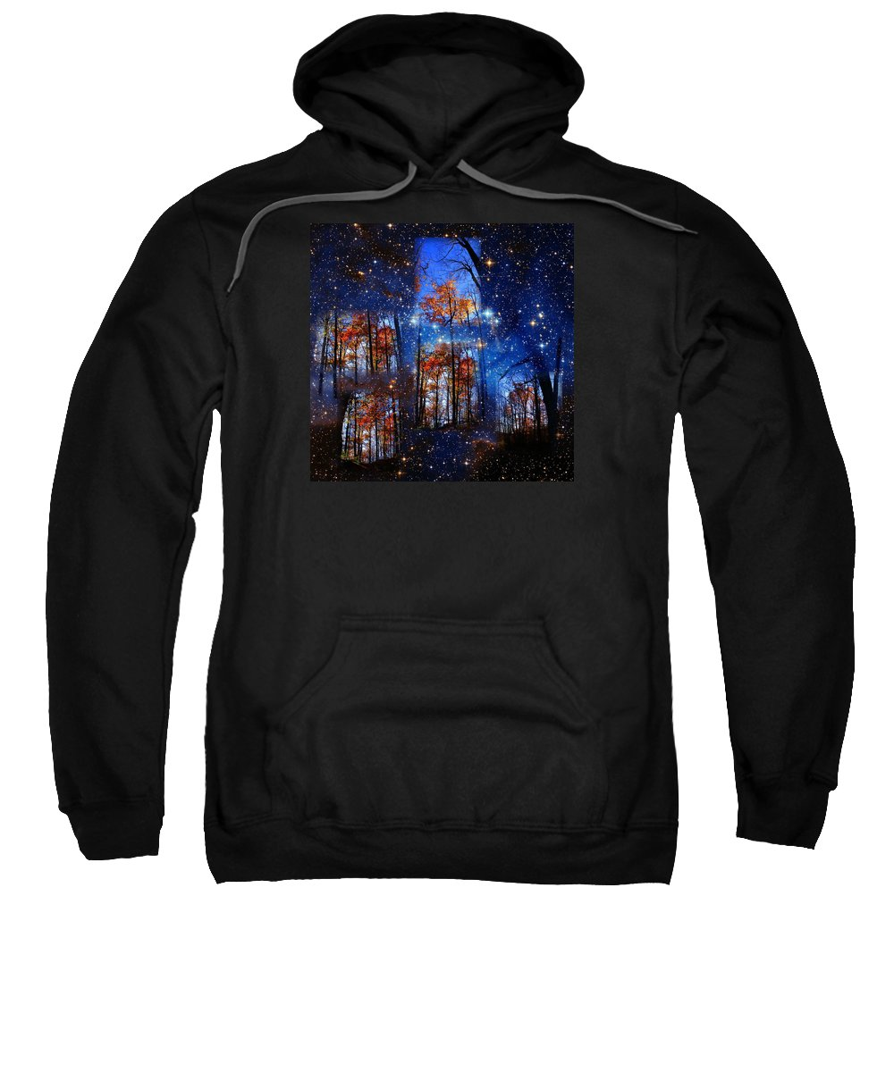 Deep Space Sweatshirt featuring the photograph The Face Of Forever by Dave Martsolf