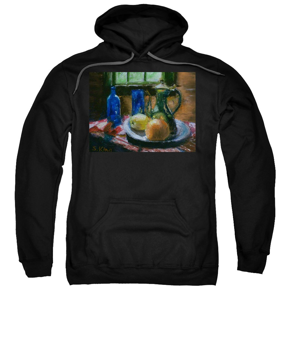 Origianl Sweatshirt featuring the painting The Gathering by Stephen King