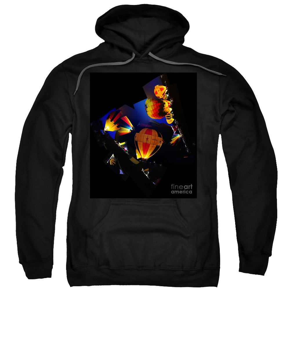 Clay Sweatshirt featuring the photograph The Glow by Clayton Bruster
