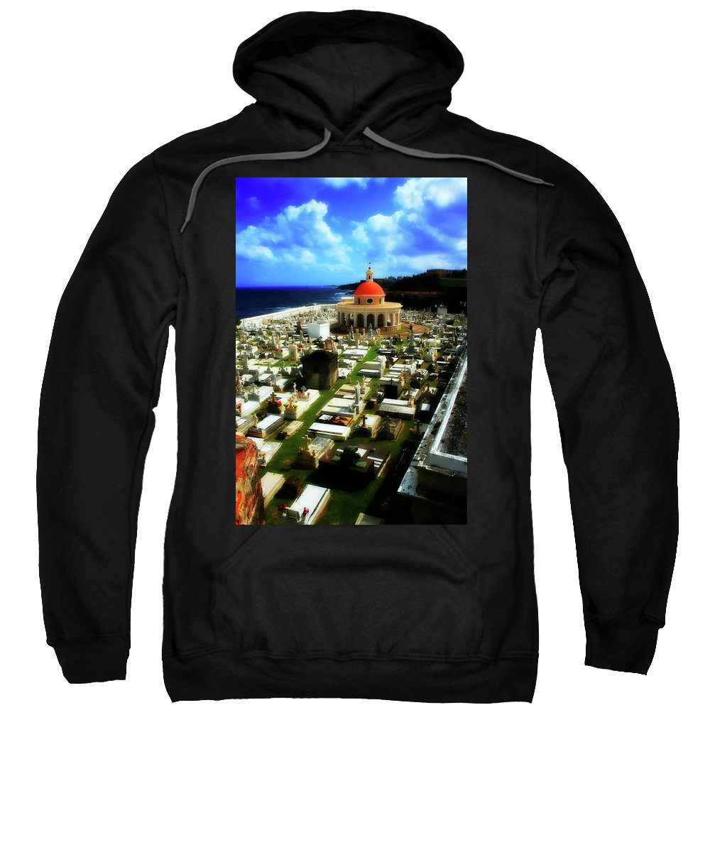 San Juan Sweatshirt featuring the photograph The Grave by Perry Webster