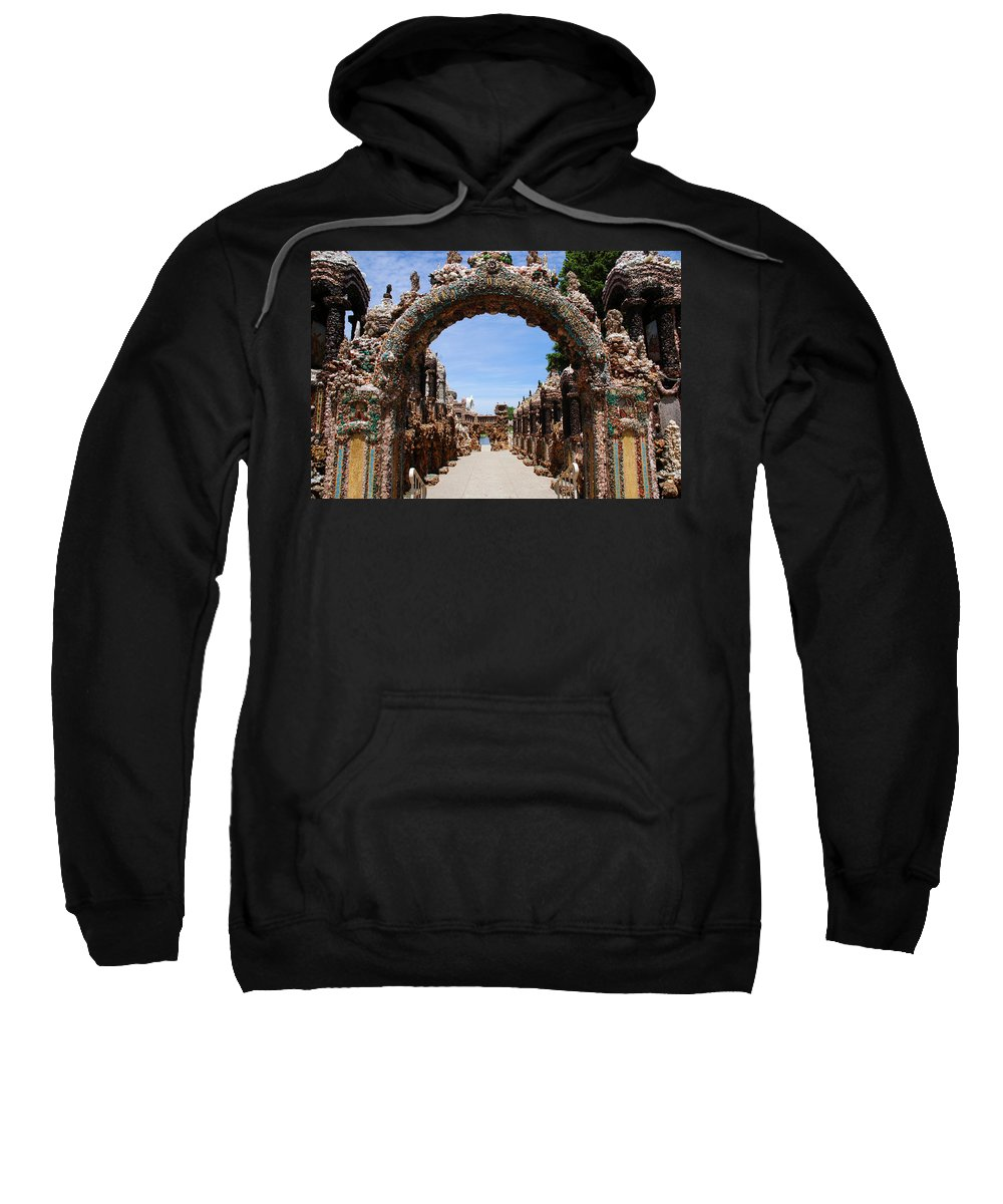 Photography Sweatshirt featuring the photograph The Grotto Of Redemption by Susanne Van Hulst