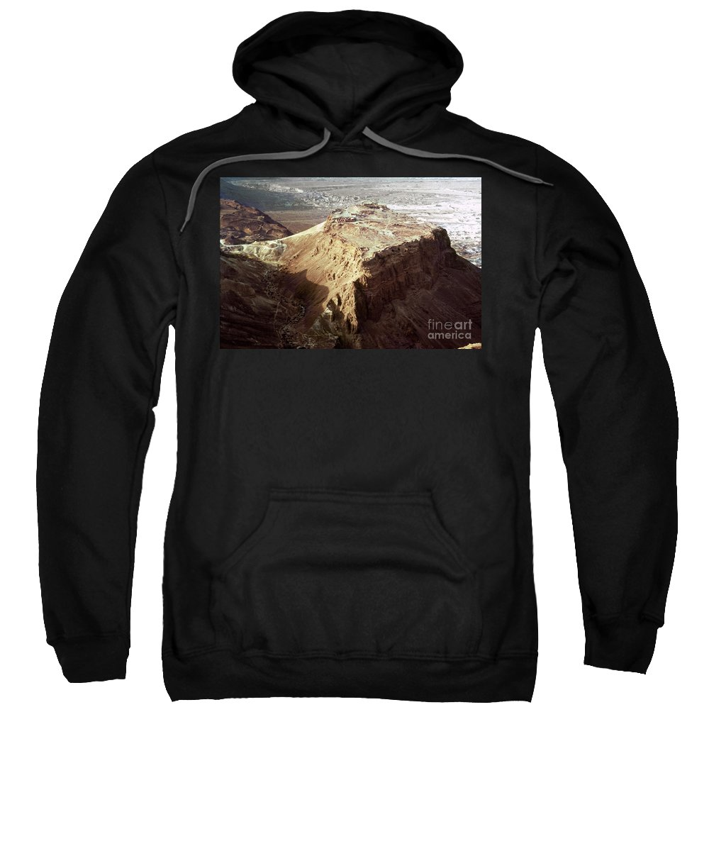 20th Century Sweatshirt featuring the photograph The Holy Land: Masada by Granger
