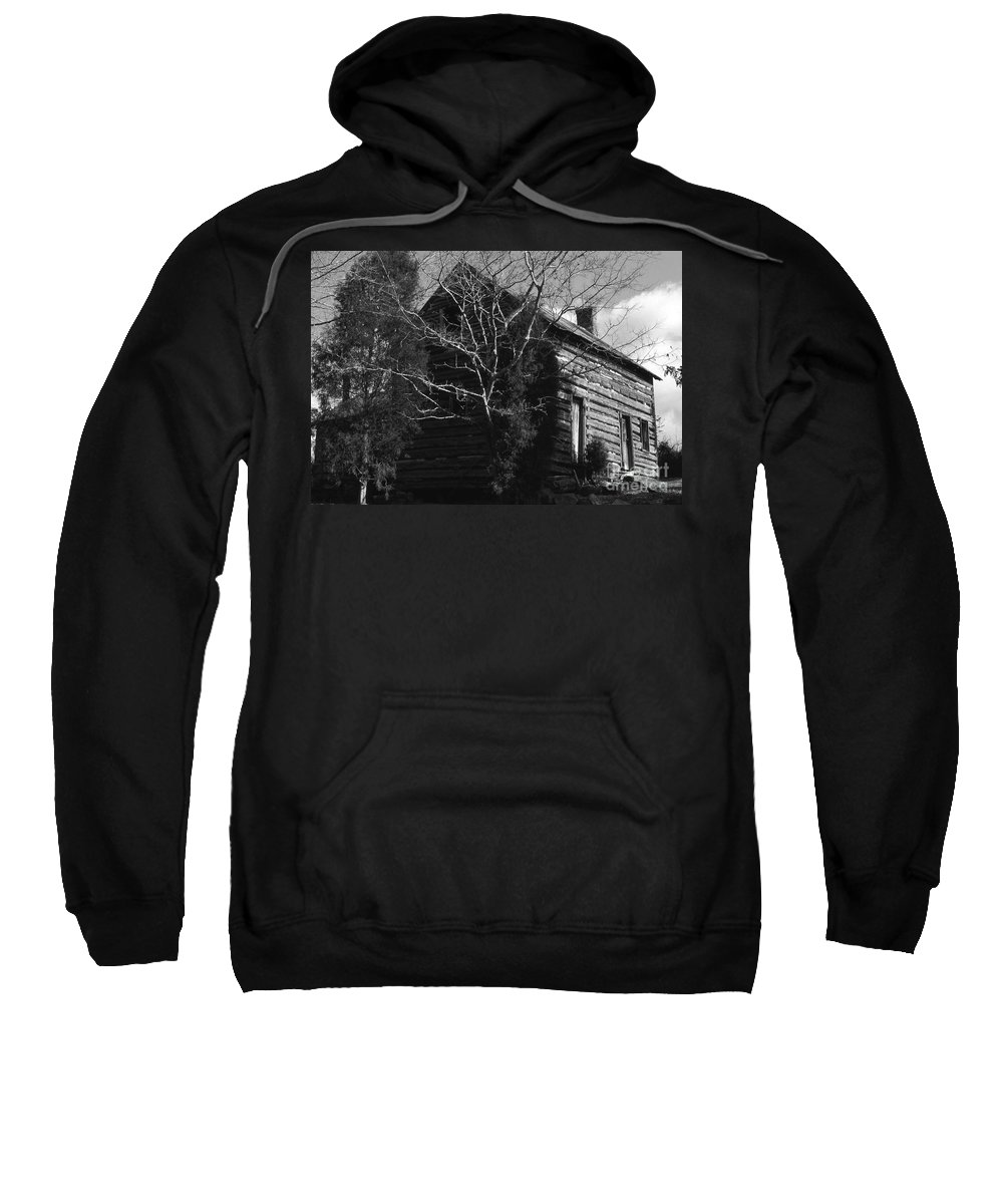 Cabins Sweatshirt featuring the photograph The Homestead by Richard Rizzo