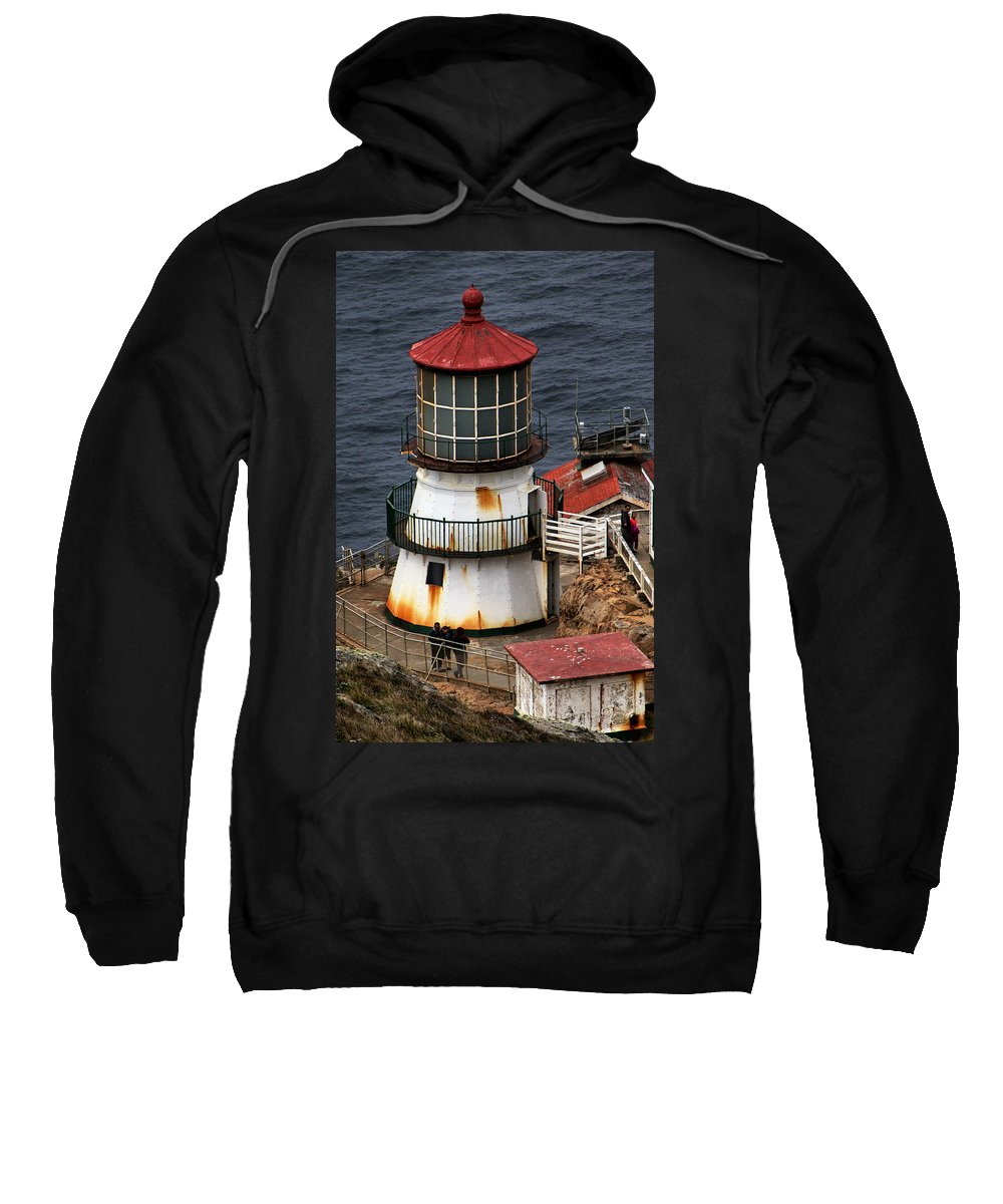 Point Reyes Lighthouse Sweatshirt featuring the photograph The Light by Michael Gordon