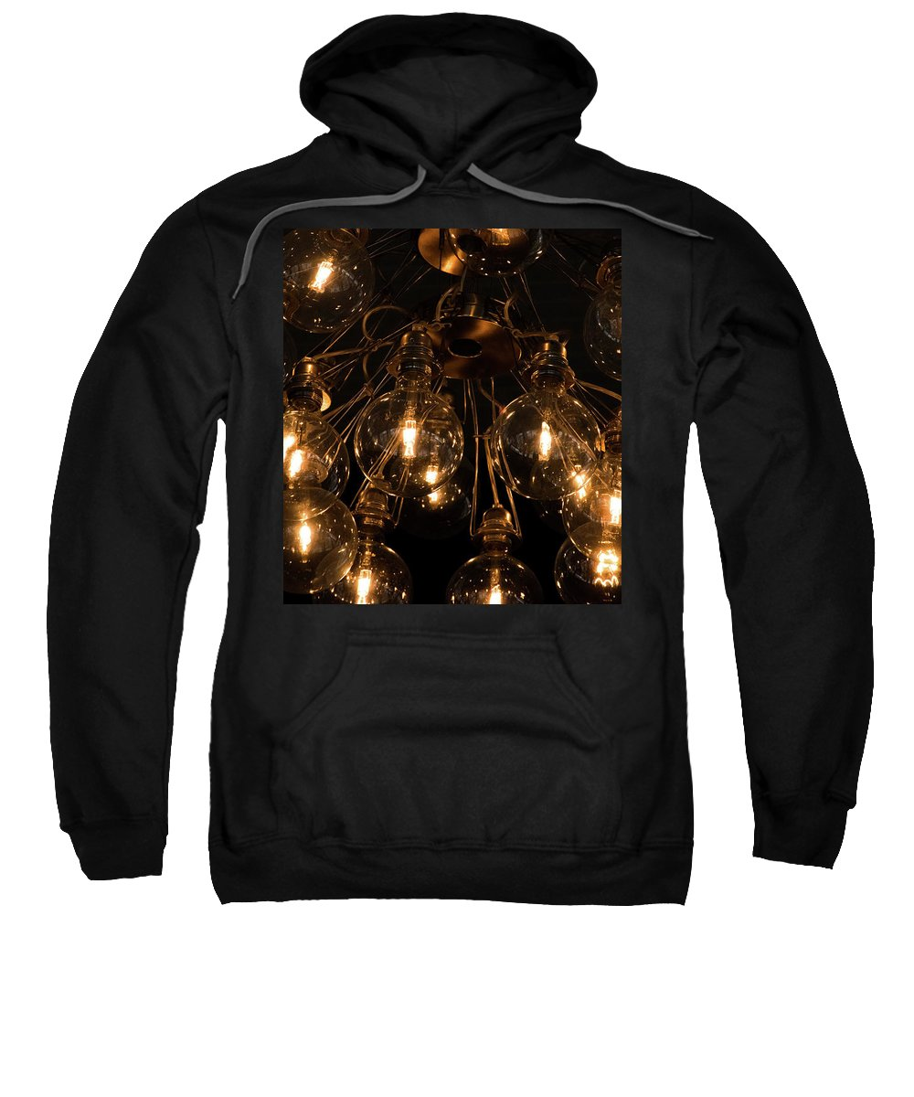 Light Sweatshirt featuring the photograph The Lights by Nick Bergquist