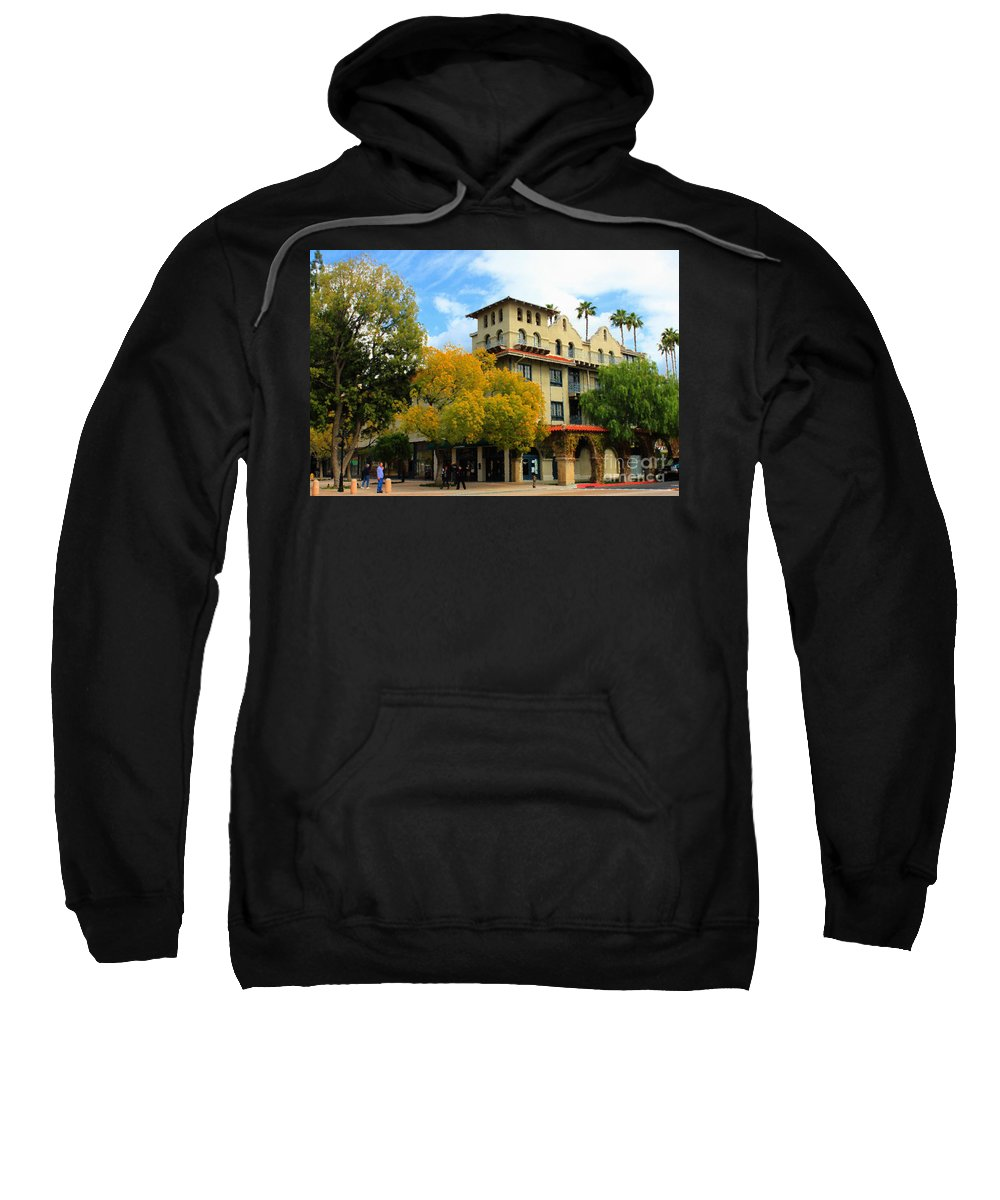 Adobe Sweatshirt featuring the photograph The Mission by James Eddy