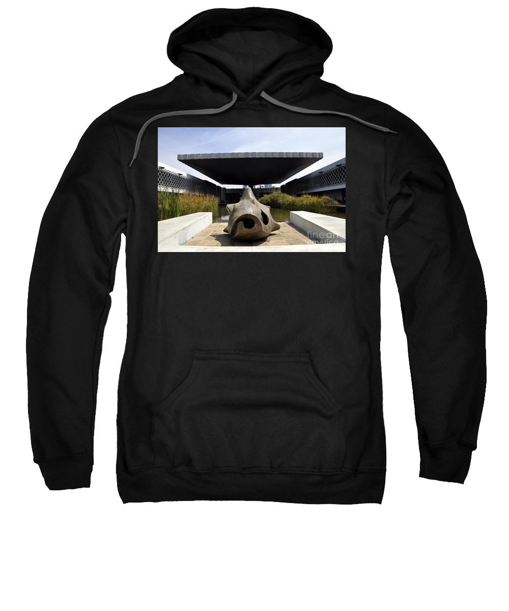 The National Museum Of Anthropology Sweatshirt featuring the photograph The National Museum Of Anthropology by Andrew Dinh