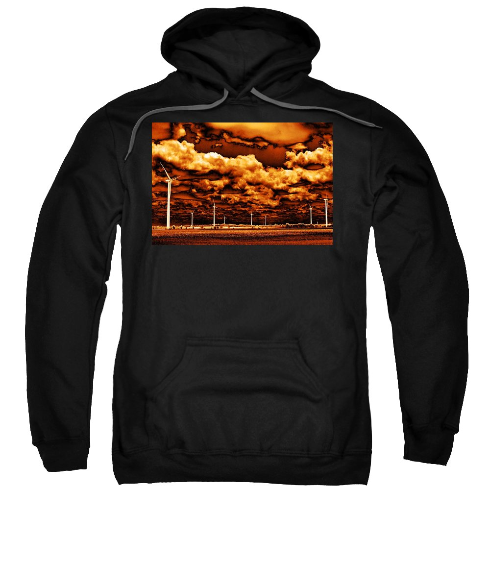 Sky Sweatshirt featuring the photograph The New Trees by Ed Smith