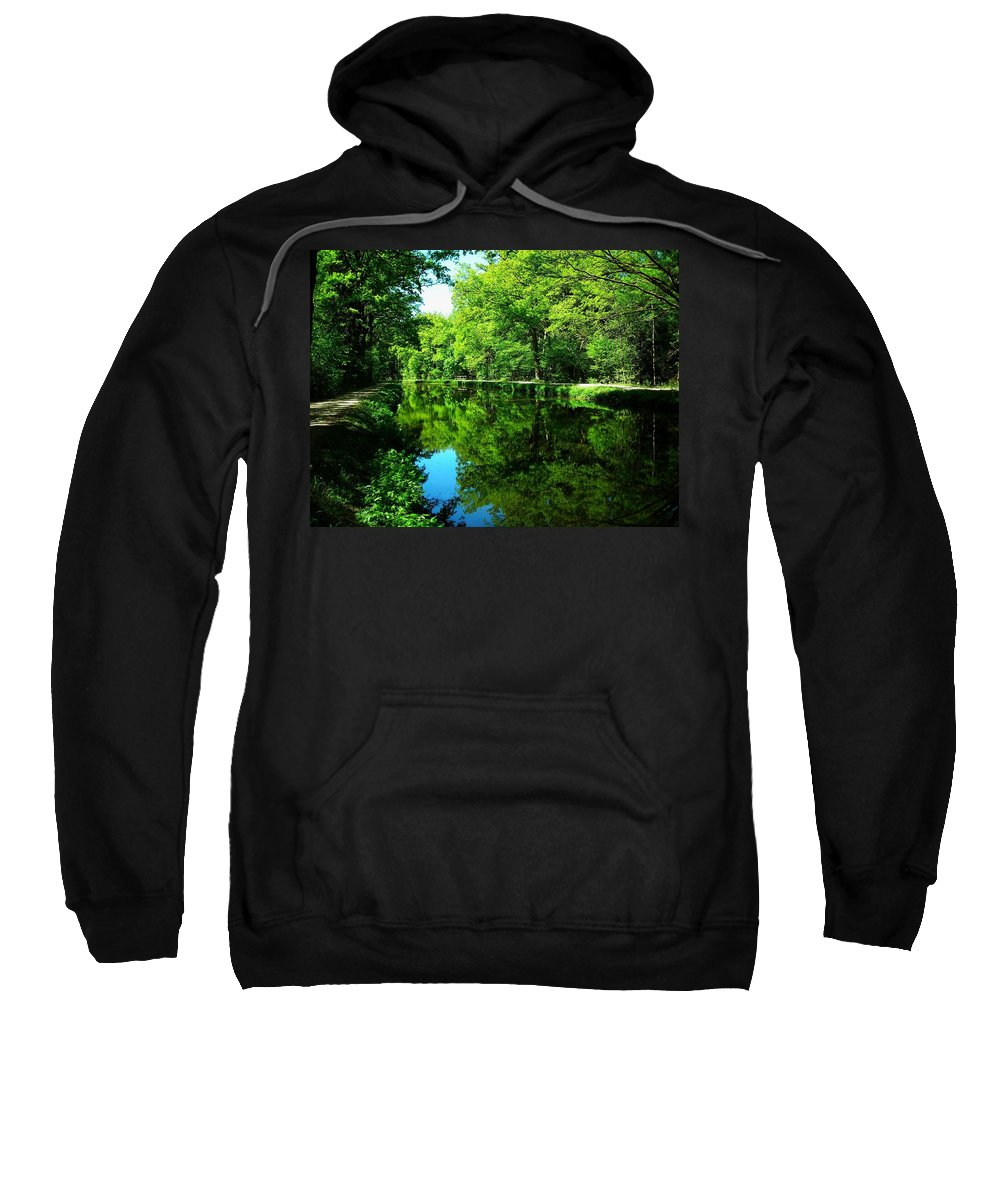 Europe Sweatshirt featuring the photograph The Old Canal ... by Juergen Weiss