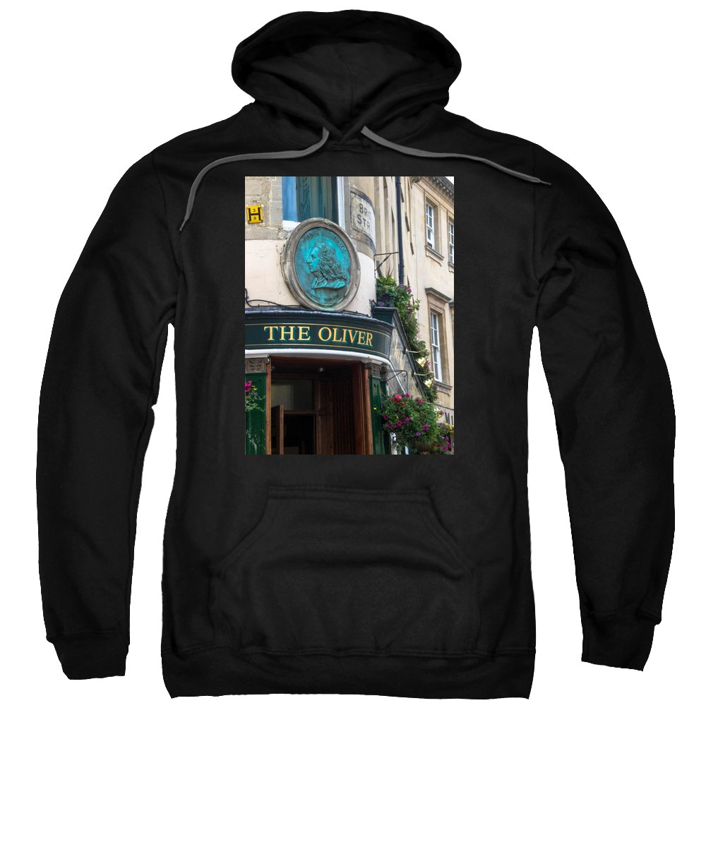 Pub Sweatshirt featuring the photograph The Oliver Pub by Butter Milk