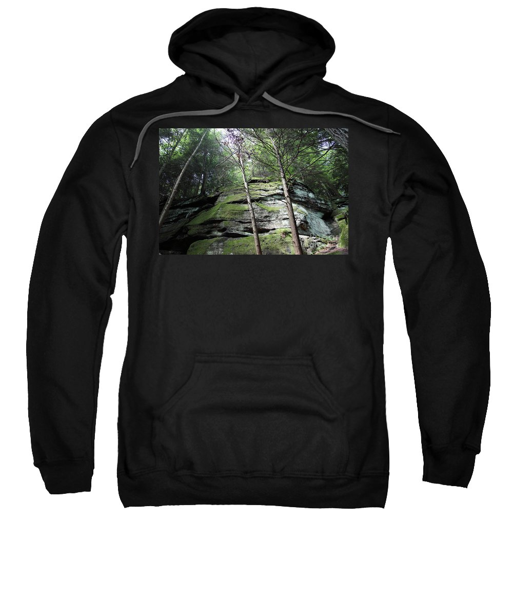 Nature Sweatshirt featuring the photograph The Original My Space by Amanda Barcon