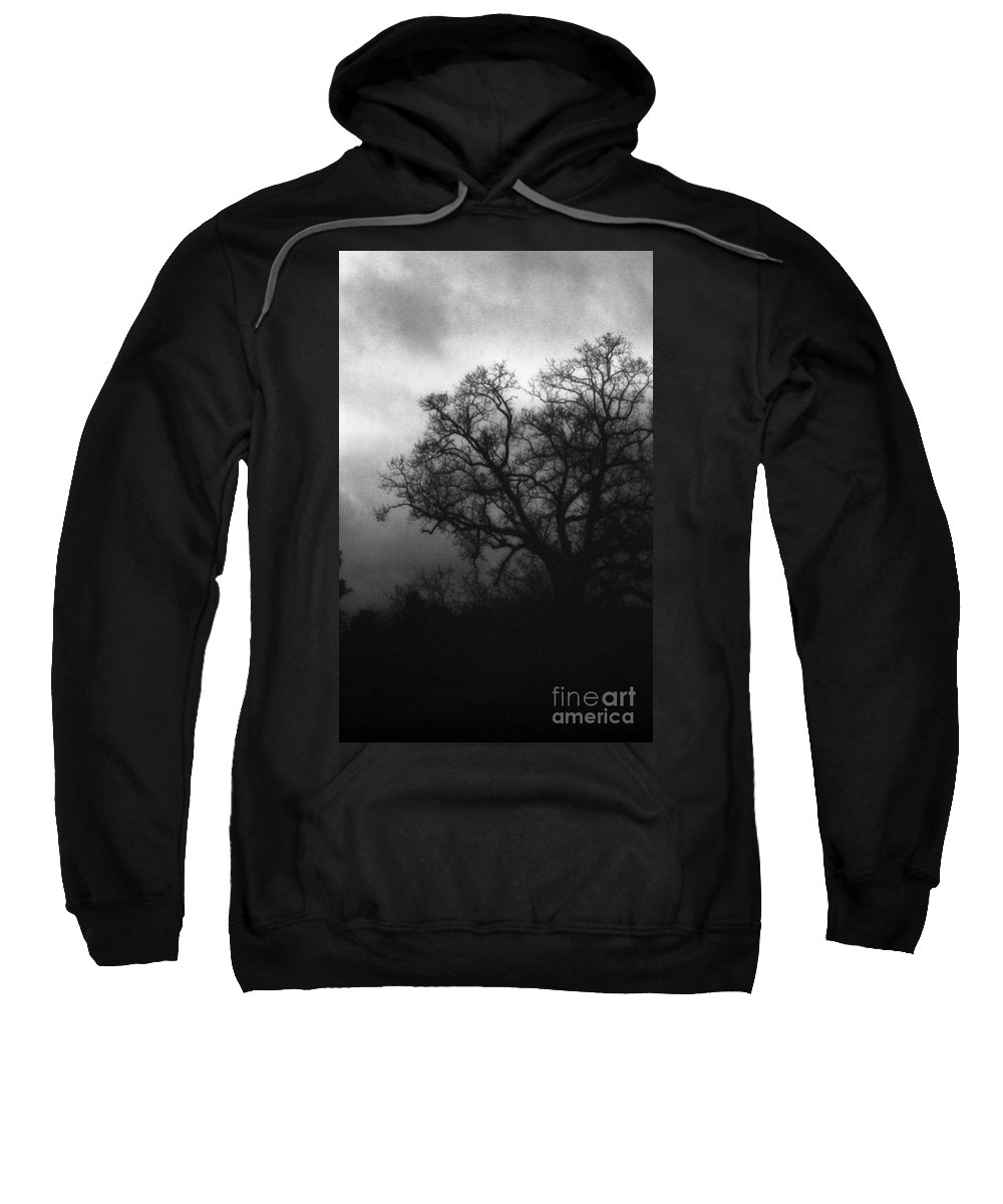 Eerie Sweatshirt featuring the photograph The Other Side by Richard Rizzo