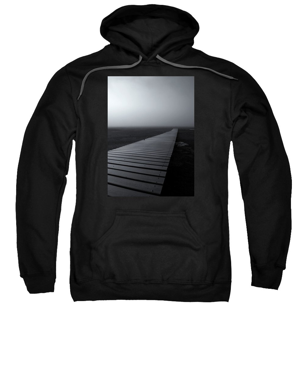 Dock Sweatshirt featuring the photograph The Path by Mike Dawson