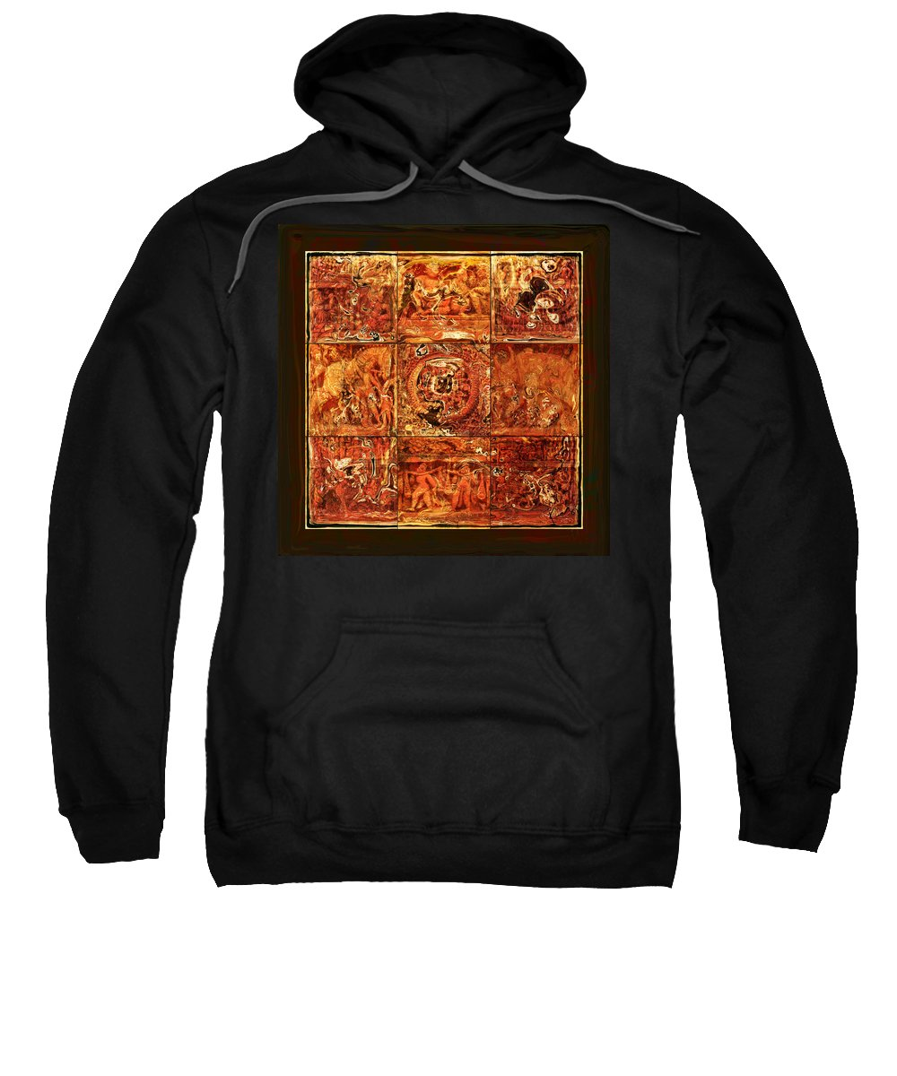 Bangladesh Sweatshirt featuring the digital art The Pieces Of Heritage by Rabi Khan