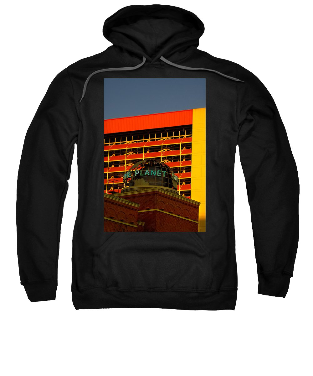 Urban Sweatshirt featuring the photograph The Planet San Antonio by Jill Reger