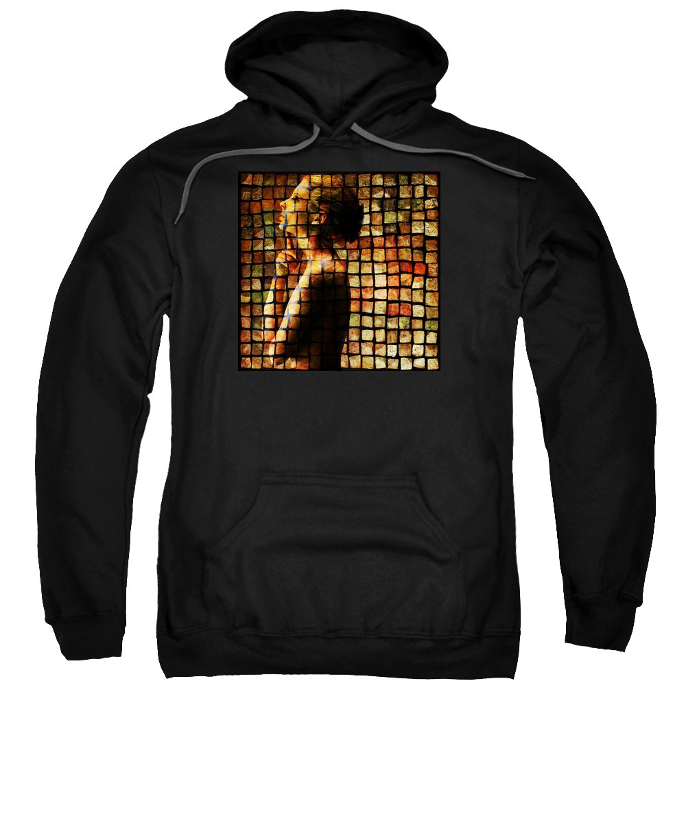 Girl Sweatshirt featuring the photograph The Process Of Thought by Vincent O Byrne