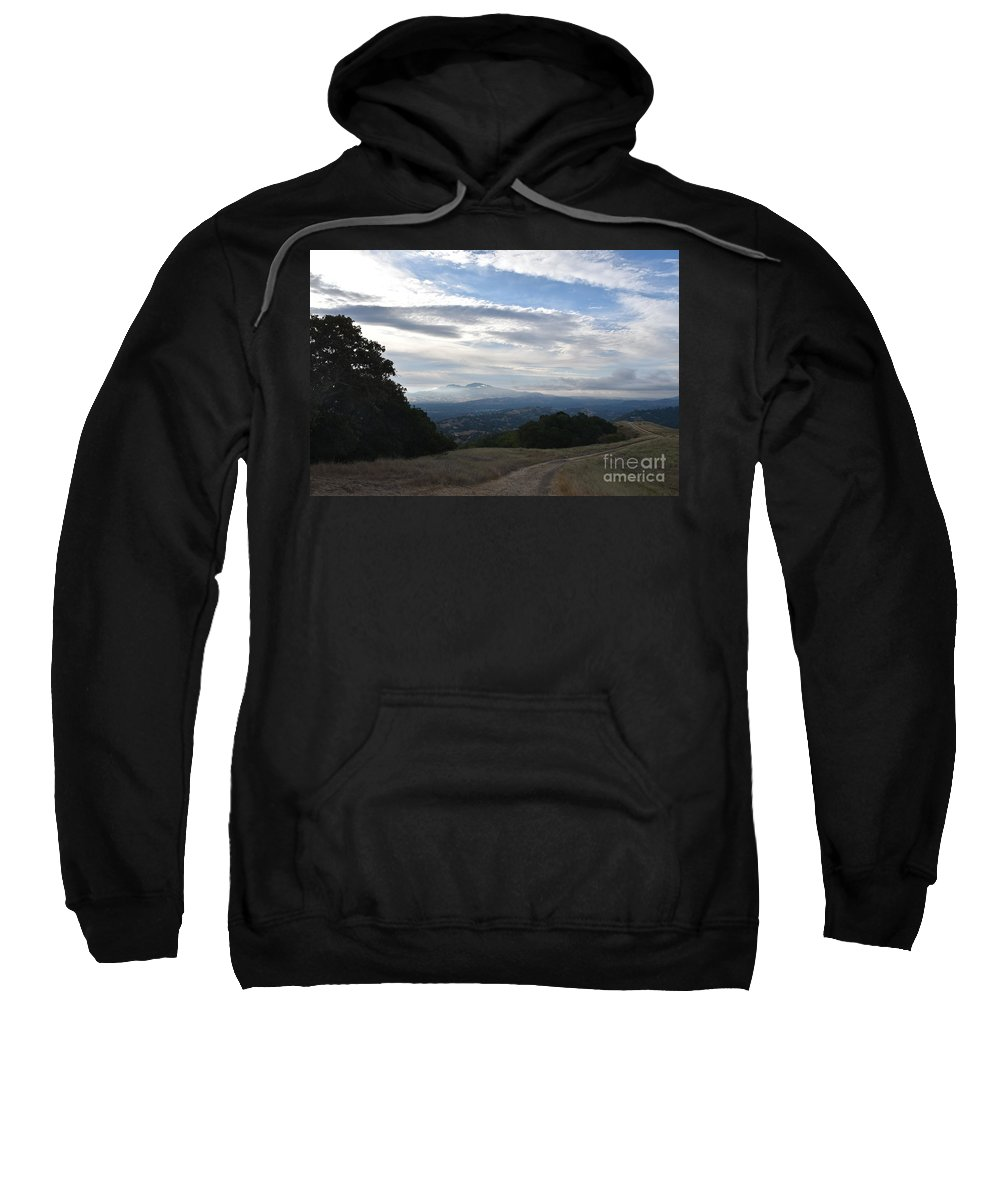 Landscape Sweatshirt featuring the photograph The Promised Land by Suzanne Leonard