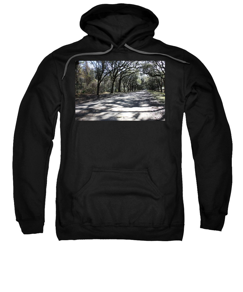 Road Sweatshirt featuring the photograph The Road Home by Carol Groenen