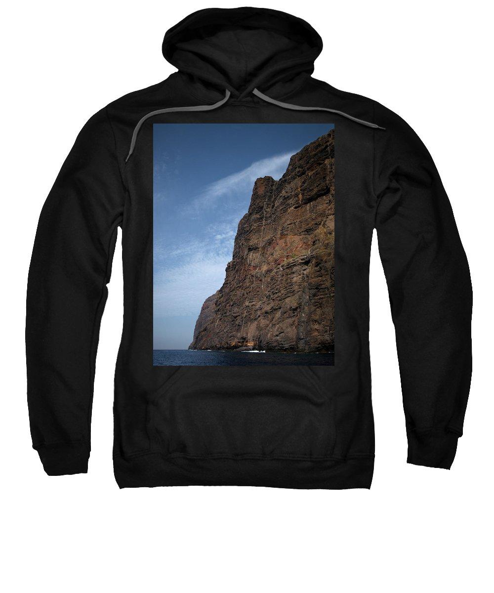 Valasretki Sweatshirt featuring the photograph The Rocks Of Los Gigantes 2 by Jouko Lehto