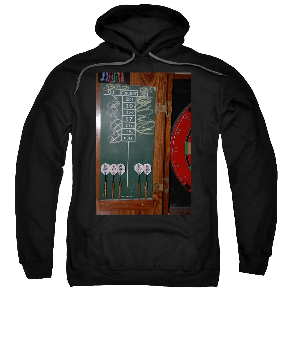 Macro Sweatshirt featuring the photograph The Score by Rob Hans