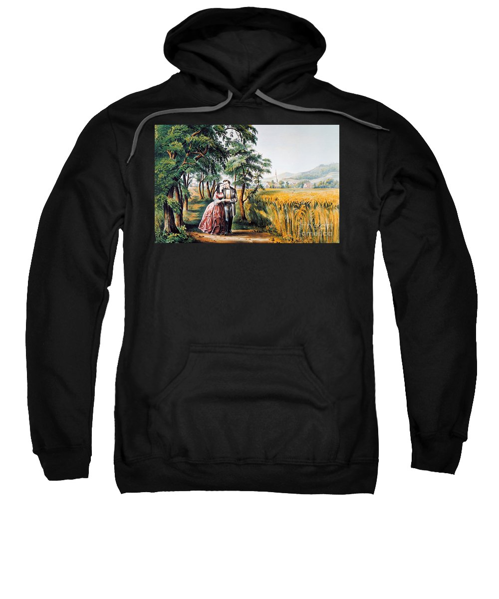 1868 Sweatshirt featuring the photograph The Season Of Love by Granger