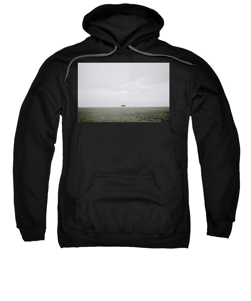 Tree Sweatshirt featuring the photograph The Serengeti by Shaun Higson