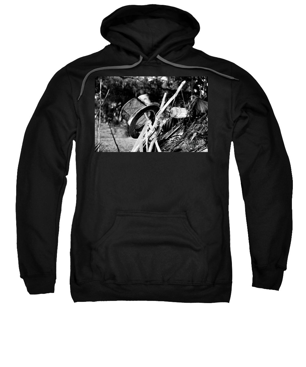 Shaman Sweatshirt featuring the photograph The Shaman's Hat by David Lee Thompson