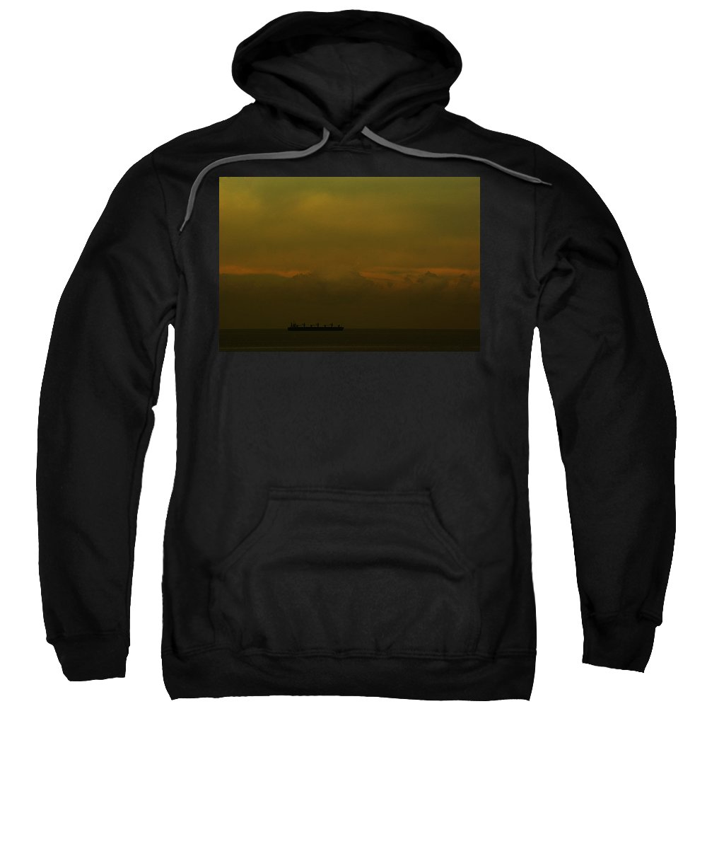 Buenos Aires Sweatshirt featuring the photograph The Ship II by Osvaldo Hamer